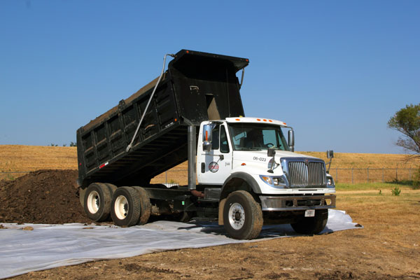 dump truck equipment rental Tiffin Ohio