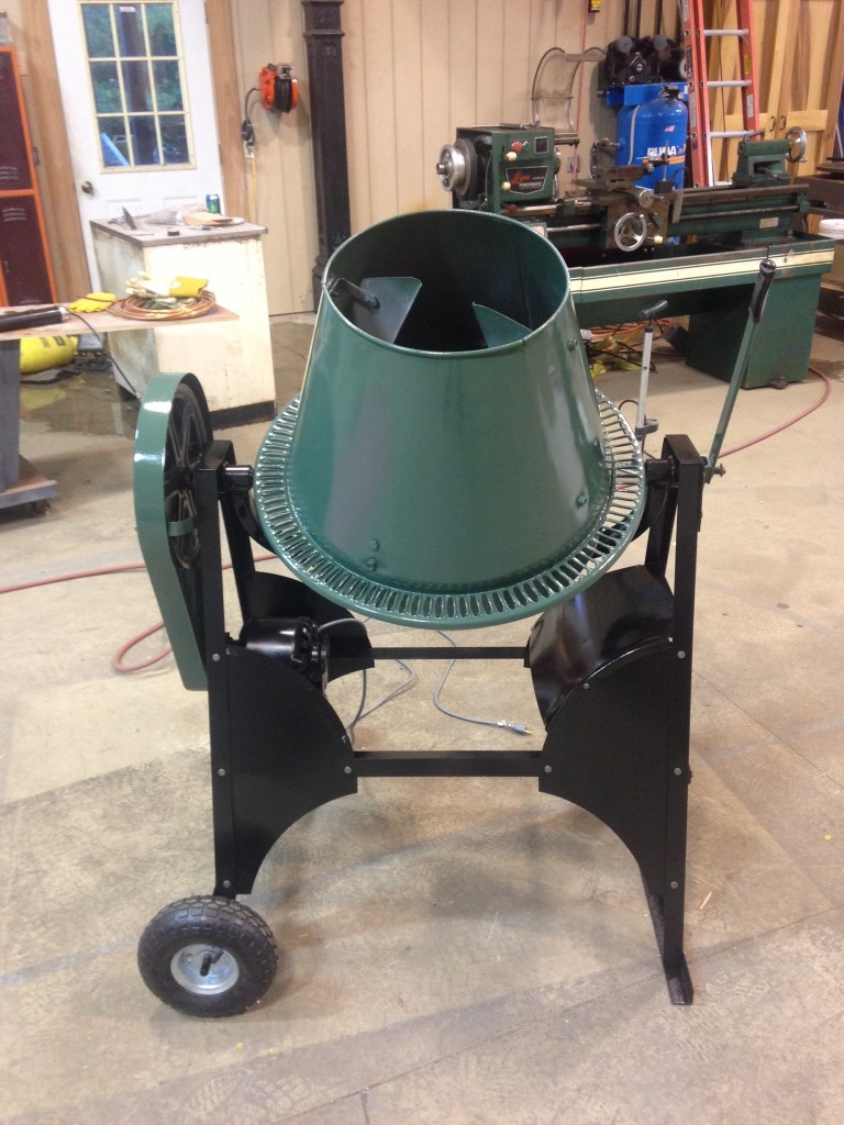 cement mortar mixer for rent